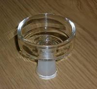 Внешняя стеклянная чаша для кальяна Temple