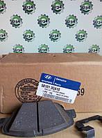 Колодки тормозные передние HUNDAI SONATA 05-09 /  KIA OPTIMA 12-нв оригинал 581013QA10