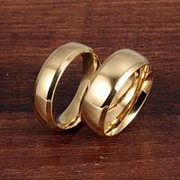 """Парные кольца """"Счастливы вместе"""" обручальные кольца позолота обручки"""