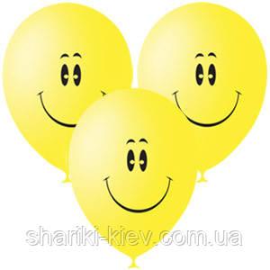 Шарики гелевые латексные Смайл  33 см. на День рождения , фото 2