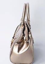 Сумка женская Gussaci с лакированным покрытием, фото 3