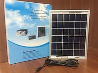 Монокристаллическая солнечная панель 9В 5Вт Solar Panel (батарея) HZT, фото 1