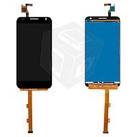 Дисплей + touchscreen (сенсор) для Alcatel One Touch 6036 Idol 2 Mini S, черный, оригинал