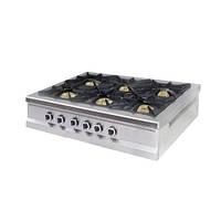 Профессиональная газовая плита Pimak МО15-6N (с газовый контроллером)