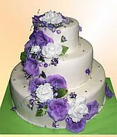 """Свадебный торт на заказ """"Великолепный"""""""