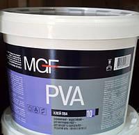 Клей ПВА модифицированный MGF PVA 10л
