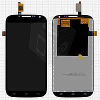 Дисплей + touchscreen (сенсор) для Ergo SmartTab 3G 5.0, оригинал (черный)