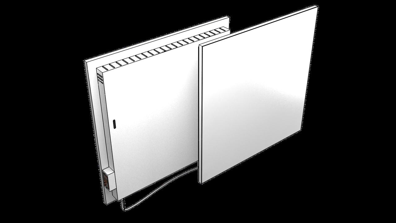 Экономный электрокерамичсекий обогреватель FlyMe 450P черный