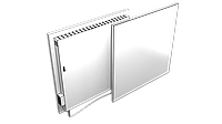 Экономный электрокерамичсекий обогреватель FlyMe 450P белый