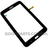 Сенсорный экран (тачскрин) к планшету Samsung T111 3G черный (Оригинал)