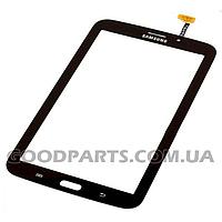 Сенсорный экран (тачскрин) к планшету Samsung T211 Galaxy Tab 3 7.0 (ver.Wi-Fi) черный (Оригинал)
