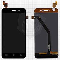 Дисплей + touchscreen (сенсор) для Jiayu G4S, оригинал (черный)