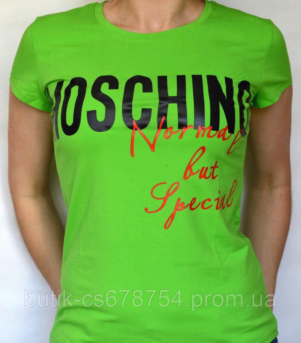 Футболка женская Moschino Одесса