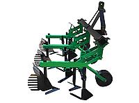 Культиватор междурядной обработки с окучниками КМО-2,1 для минитрактора, трактора