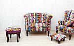 Мебель в стиле пэчворк – колорит и позитив