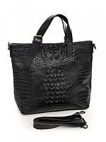 Женская кожаная сумка 36*29 см., фото 1