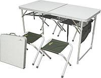Раскладной стол для пикника и 4 стула Ranger
