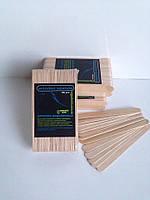 Шпателя деревянные 100 шт