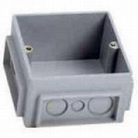 Монтажная коробка для лючка 6 (2х3) модулей, металл, Legrand