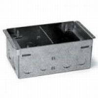 Монтажная коробка для лючка 8 (2х4) модулей, металл, Legrand