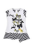 Нарядное платье-туника с бантиками, итальянский бренд
