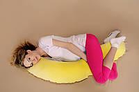 Подушка Банан велюровая 2в1 (холофайбер)