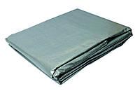 Тент серебро 4х5м 140г/кв.м Mastertool 79-7405