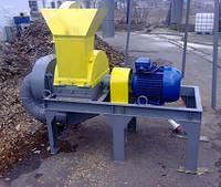 Дробилка молотковая для измельчения древесины ДРМ-1500