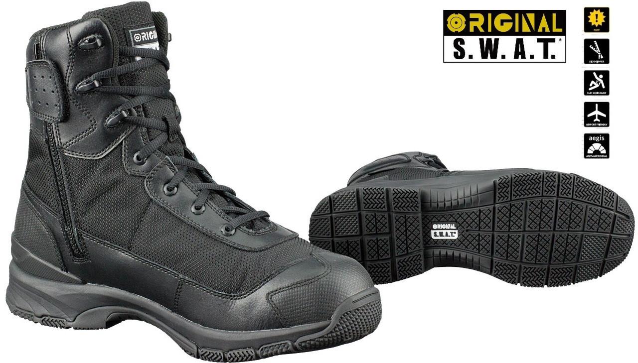 "Тактические ботинки ORIGINAL S.W.A.T. H.A.W.K. 9"" Side-Zip EN арт. 165231"