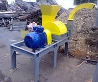 Дробилка молотковая для измельчения древесины ДРМ-1500М с транспортным вентилятором