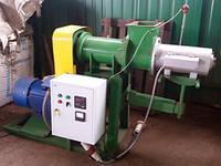 Пресс экструдер для изготовления топливных брикетов ПБ-400