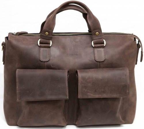 Мужская удобная сумка из высококачественной натуральной кожи VATTO MK25Kr450