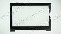 """Тачскрин (сенсорное стекло)+рамка дисплея для ASUS VivoBook S300, 13.3"""", черный"""