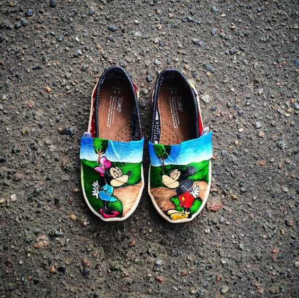 Нуууу ОООчень Милые😍☺️👣🎯👶🏻🙀🐾☀️❤️🎨Детская обувь TINY TOMS by Abramkina 🎨 Нарисуй Свои TOMS🎯🎁🎨👣special for @kushnirchukmira