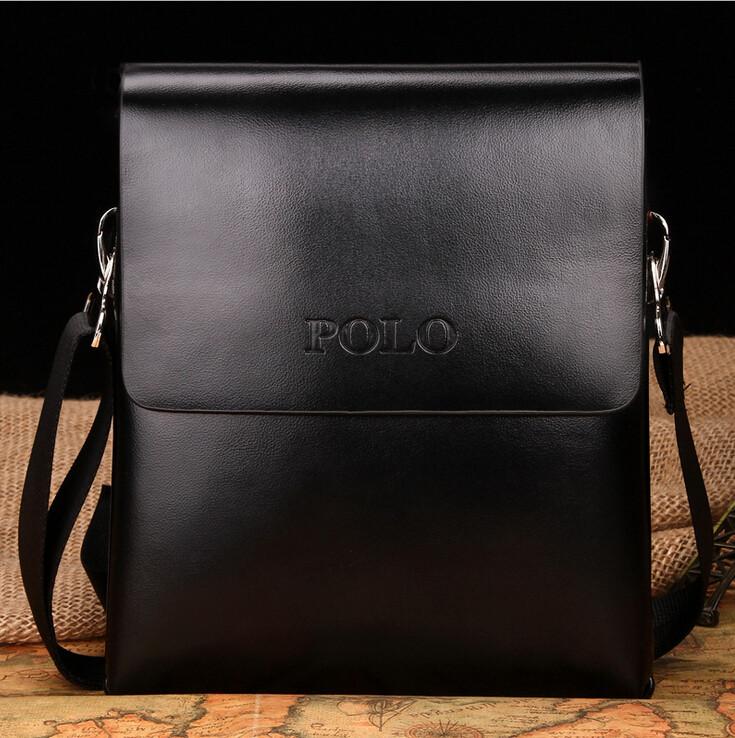 Cумка мужская Polo Gloss black