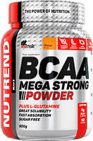 Аминокислоты BCAA Mega Strong Powder (500 г) Nutrend