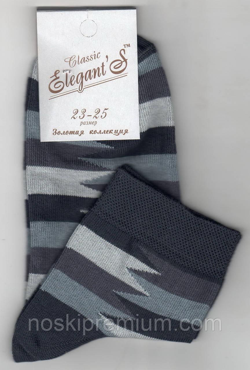Носки женские демисезонные х/б Элегант, 23-25 размер, 01551
