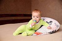 Подушки для кормления с завязками (полистироловые шарики)