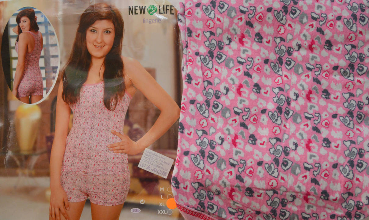 Пижама (Майка, шорты) New life, фото 2