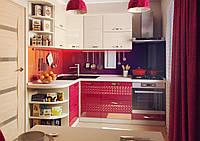 "Угловая кухня ""Juice 1500 х 2200 мм"" Альфа мебель"