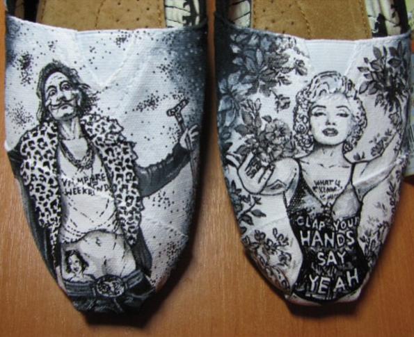 Salvador Dali feat Marilyn Monroe by @Abramkina
