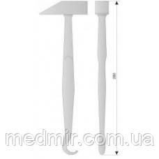 АН 1-09 Молоток анатомический с крючком