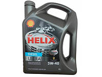 Масло моторное Shell Helix Ultra Diesel 5W-40 4л