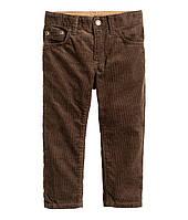 Детские вельветовые брюки для мальчика H&M