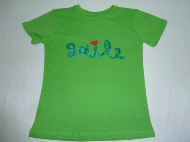 Футболка для девочки Smile