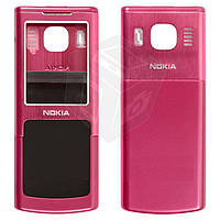 Корпус для Nokia 6500 classic - оригинальный (красный)