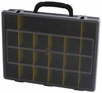 Ящик для крепежа (органайзер) с переставными перегородками  36х28х7 (20260)