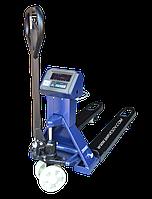 Гидравлическая тележка-весы ВПЕ-3000 РK