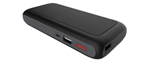 Универсальная мобильная батарея FrimeCom 6S-BK  2 USB LED фонарик