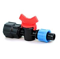 Кран с внутренней резьбой 3/4  для ленты капельного полива Presto-PS FL 011734 (50 шт в уп.)